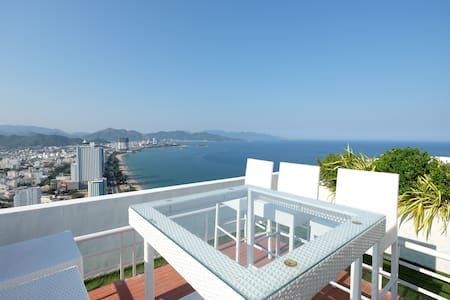 Ocean View Penthouse - 2 bedrooms with garden - tp. Nha Trang