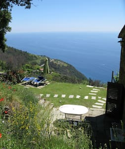Stone cottage in the vineyard on the sea - Riomaggiore - House