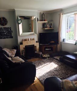 Cosy airy  single room, shared bath - Abbots Langley - House