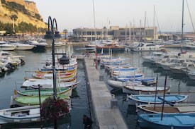 Picture of Studio with a breathtaking view of the port