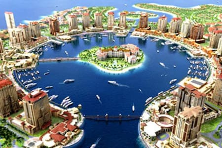 Luxury Apartment Porto Arabia - Lakás