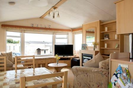 Seaside Static caravan at Ladram Bay holiday Park. - Otterton - Chalet