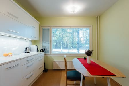 Park &Sea View Apartment in Kotka Centre - Kotka - Lejlighed
