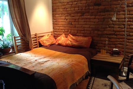 Lovely sunny room for 2 in Montreal (Plateau) :) - House