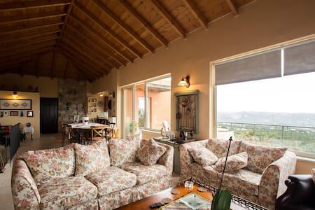 Top of the Cretan Hill Villa with gorgeous View - Villa