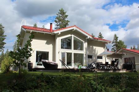 Omakotitalo Vierumäellä - House