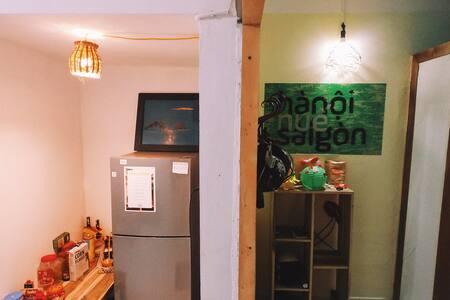208 Hanoians' house - Terrance double room - 公寓