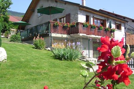 Grande maison de village avec jardin et terrasse - Péron - Maison