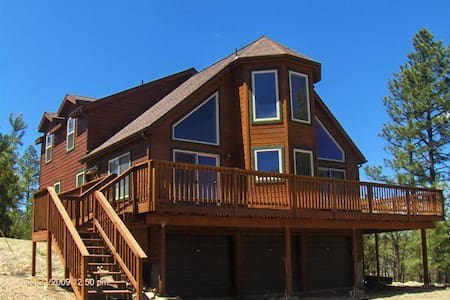 Romantic Snowy Mountain Top Cabin at 6800' - Heber - Casa