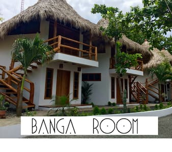 CASITAS PACIFIC| BANGA ROOM IN PLAYA GUASACATE - Tola