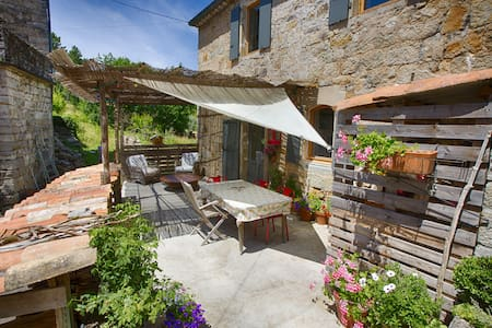 maison dans hameau ardéchois - House
