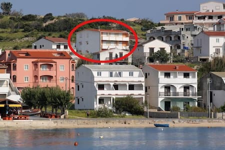 Studio flat with terrace and sea view Metajna, Pag (AS-527-a) - Metajna - Andet