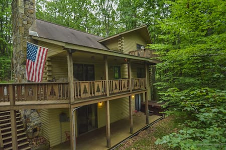 Spacious Log Home Close to Deep Creek Activities - Oakland - Rumah