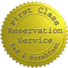 1st Class Lodging Reservation Service