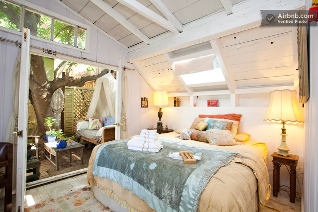 artsy and rustic 1927 tree house in los angeles