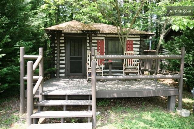 Historic Log Cabin Asheville 9 In Asheville