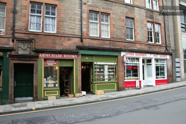 The west port apartment in edinburgh for Shop with apartment above