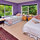 Our larger Amethyst Room ideal for a twin share or double, with a lovely tree view.