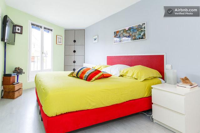 Superb chambre d 39 h te brunobastille paris for Chambre d hotes bastille