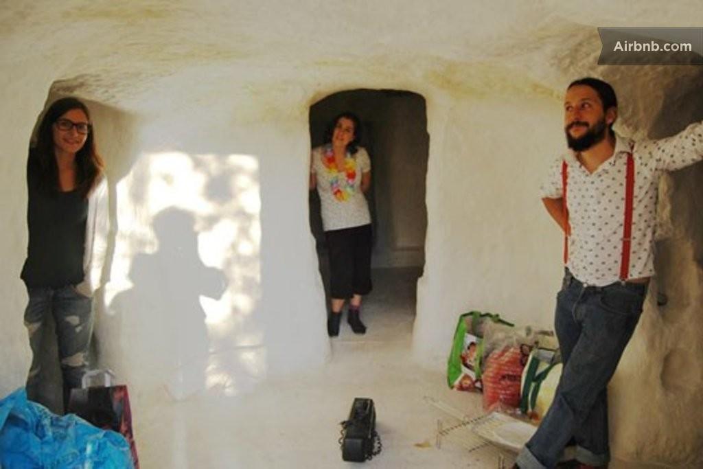 La casa-caverna in Spagna