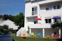 Casa de praia c/ piscina 10p Moledo