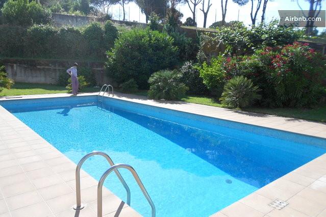 Villa con piscina e camino roma eur in rome - Piscina eur roma ...