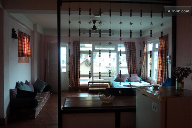 Rent studio apartment in kathmandu in kathmandu for Outside studio room
