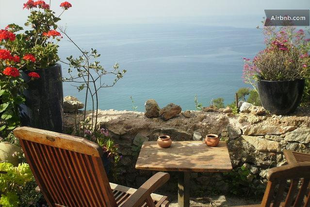 Amazing rustic villa with sea view in Finale Ligure