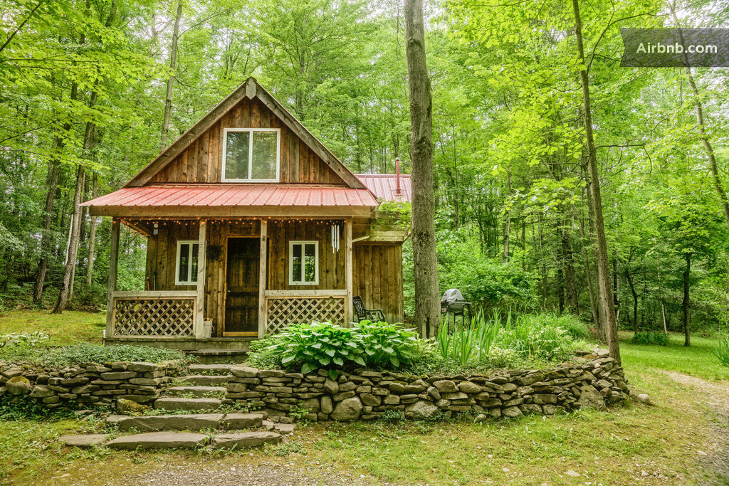 springs retreat cabin rental in montour falls