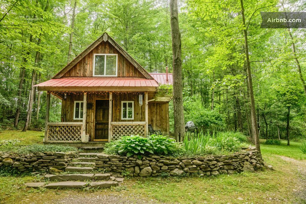 Springs Retreat Cabin Rental In Montour Falls