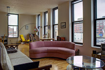 Downtown loft, huge, hip, and clean