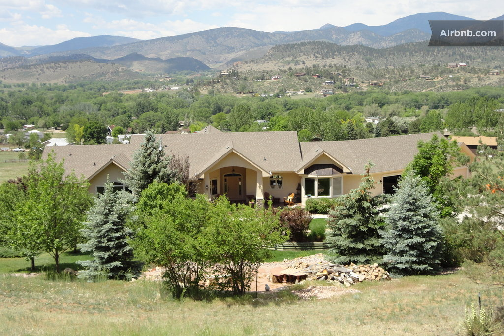 Rocky mountain vacation dream home in loveland for Mountain dream homes