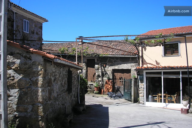 Casa de piedra en reserva natural in mu os - Casas de piedra natural ...