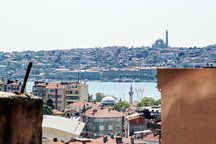 Golden Horn from own terrace-PINK